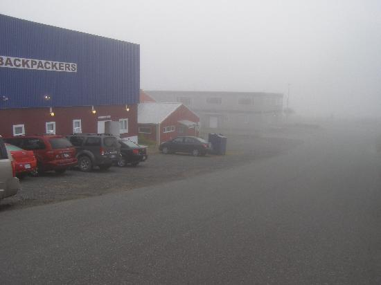 C&N Backpackers Port Hardy: It sometimes gets foggy!