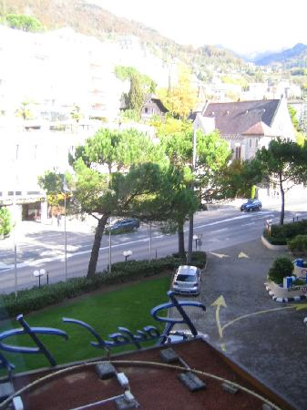 Hotel Royal Plaza Montreux: View from room