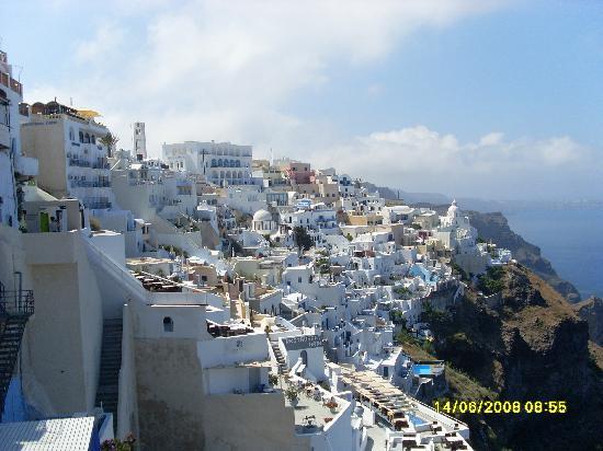 Hotel Anastasia Santorini: View at Fira