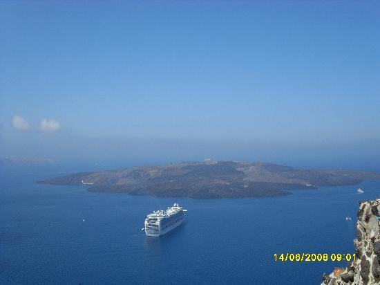 Hotel Anastasia Santorini: Volcanic Island
