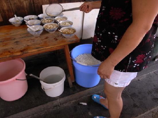 湖南省, 中国, 米豆腐 出汁が美味しい