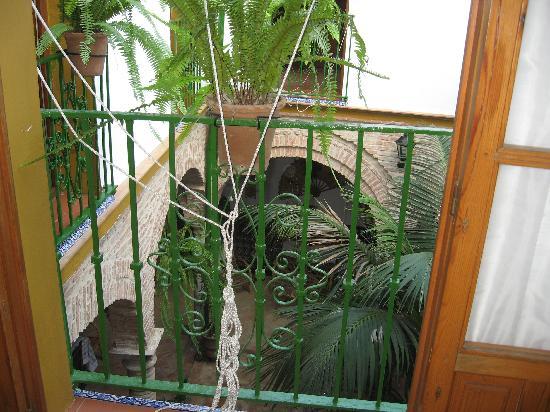 Hostel Comercio: patio