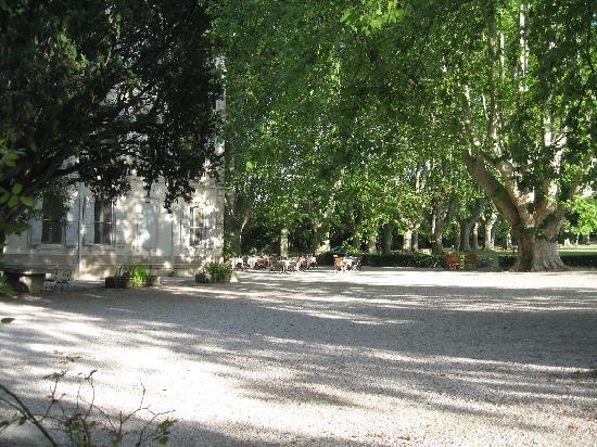 Le Chateau des Alpilles : Park