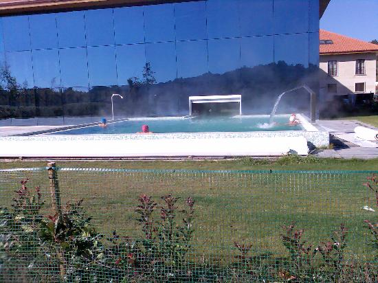 Oca Augas Santas Balneario & Golf Resort : piscina climatizada exterior