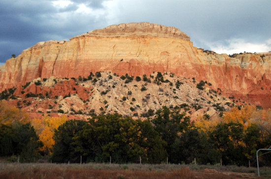 Abiquiu, Нью-Мексико: View at Ghost Ranch