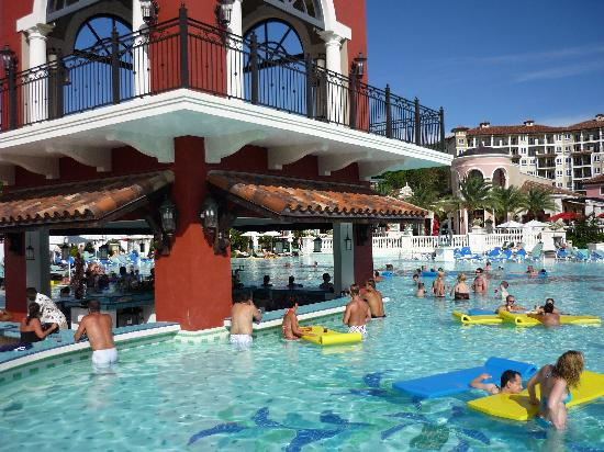 Hanging Out At The Pool Picture Of Sandals Grande