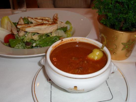 Cafe Mozart: サラダとスープ
