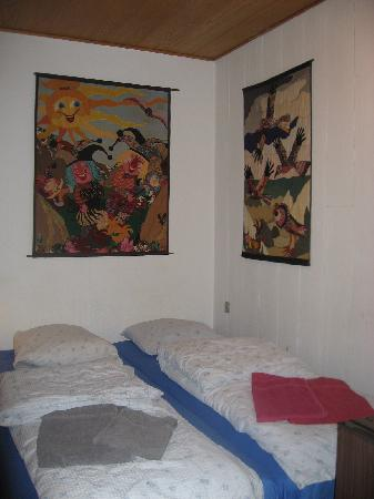 Bed & Bath: Our room
