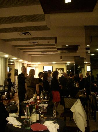 Hotel Borromini: 年越しディナーのレストラン風景