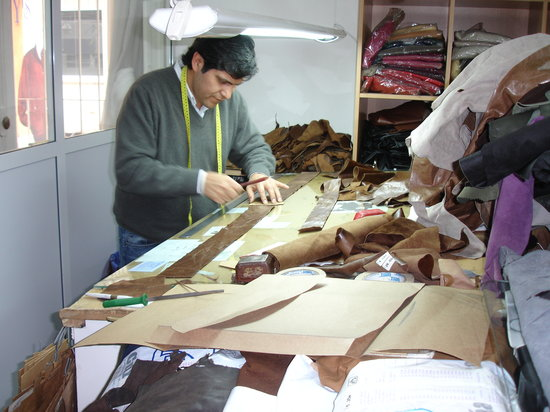 Poppy's Leather Garments Factory