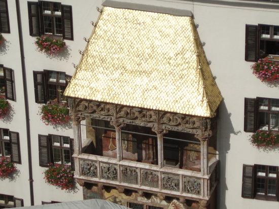 Innsbruck, Avusturya: Tettuccio d'Oro