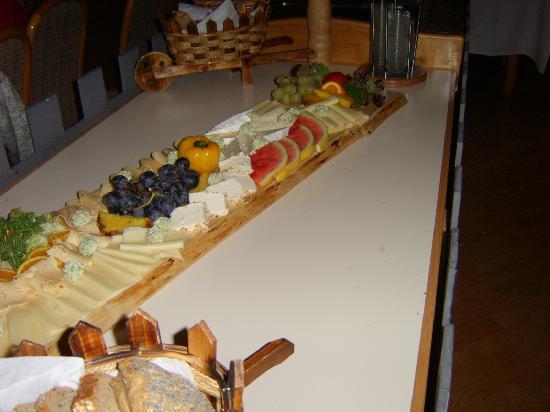 Mi Hotel Muehldorf: Zum Schluß : Käseplatte