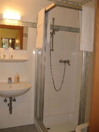 Hotel Garni Evido: Bathroom