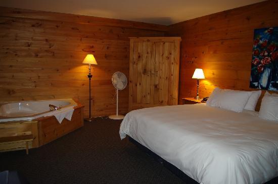 Hotel Sacacomie: habitacion vistas al lago