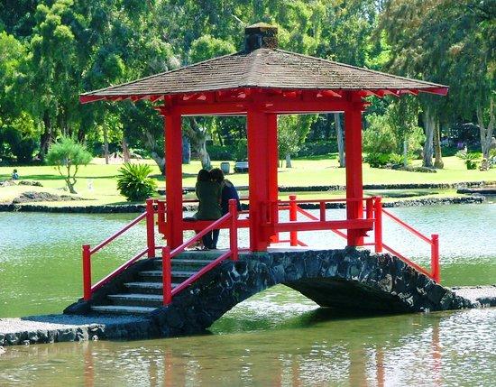 Hilo, Hawái: L. Garden Japanese Gazebo