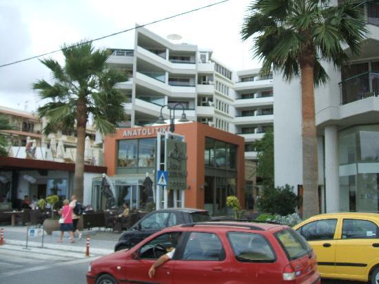Aquila Porto Rethymno : Front of hotel