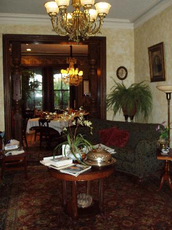 William Lewis House: Sitting and Dining Rooms