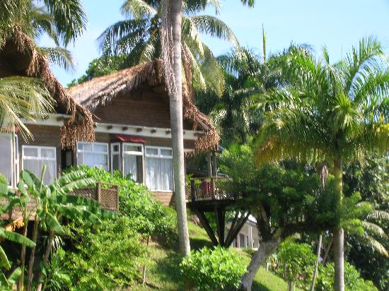 Hotel Villa Caribe: The bungalow from outside