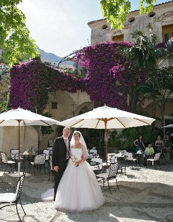 Hotel Palazzo Murat: In the main courtyard