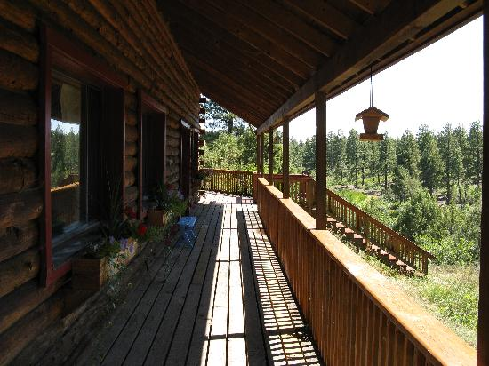 Lost Canyon Lake Lodge: another deck view