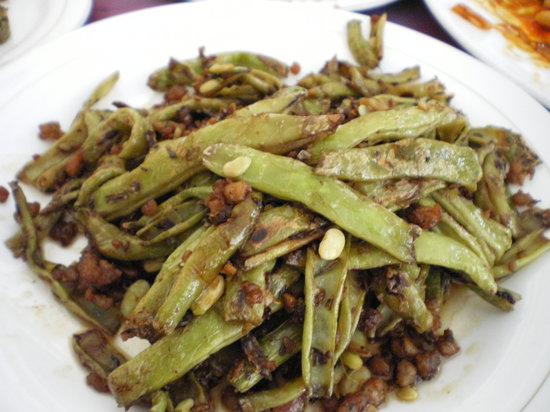 BeiJing Xiaowangfu (RiTan Park): Long String Beans