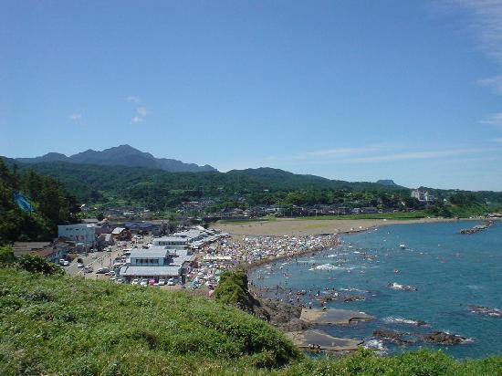 Kashiwazaki, Japan: 鯨波海水浴場