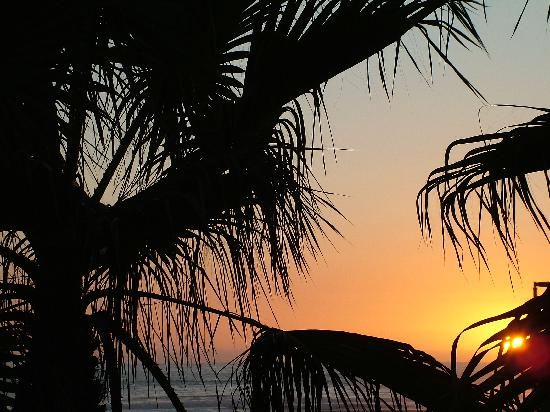 Hyatt Regency Huntington Beach Resort Spa Sunset From The Hotel