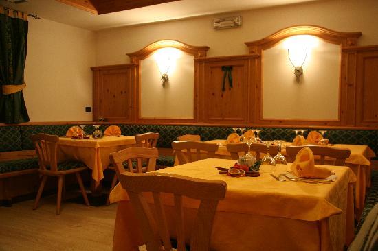 Hotel La Romantica: particolare della sala