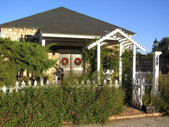 Fairy Tale Bed and Breakfast: The Shepherd's Inn front entrance