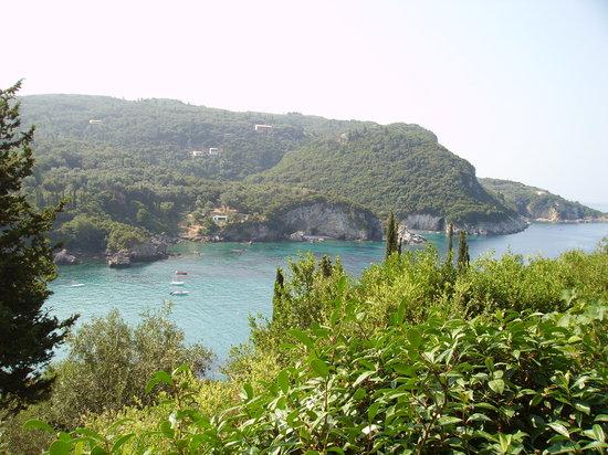 Paleokastritsa, Grecia: Paleo view