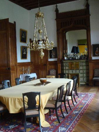 Chateau de Pitray: Dining Room