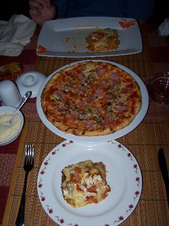 Good Morning Vietnam: Lasagna and pizza
