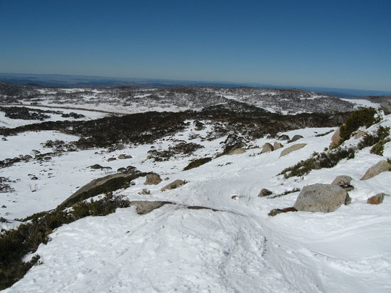 Perisher Valley, Australia: 岩場のコース