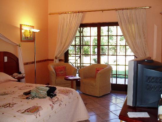 Hlangana Lodge : Our room