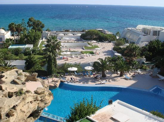 Royal Azur Thalasso Golf : view from balcony