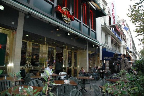 Hard Rock Cafe Paris : THE PATIO