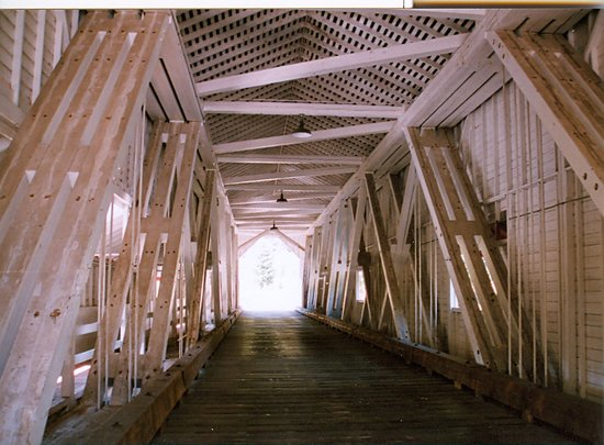 Office Bridge, Interior, Westfir, OR