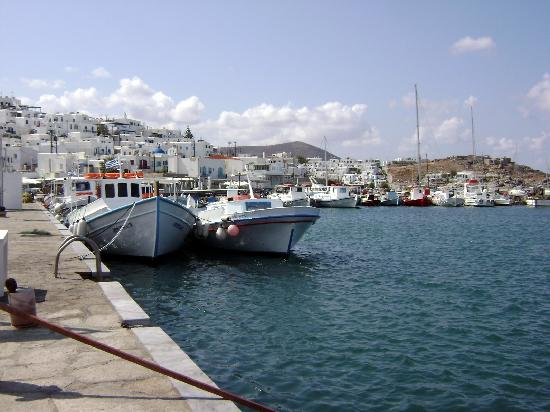 Hotel Frangiscos Inn: Naoussa port (north)