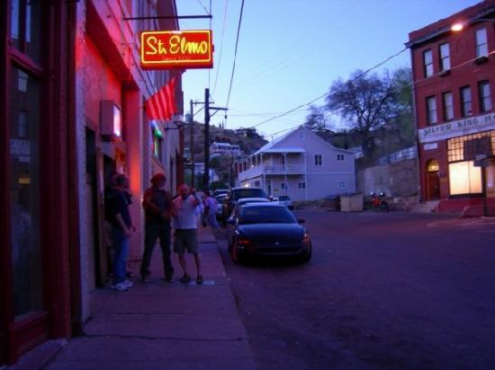 The OK Street Jailhouse : St. Elmo's Bar in Bisbee
