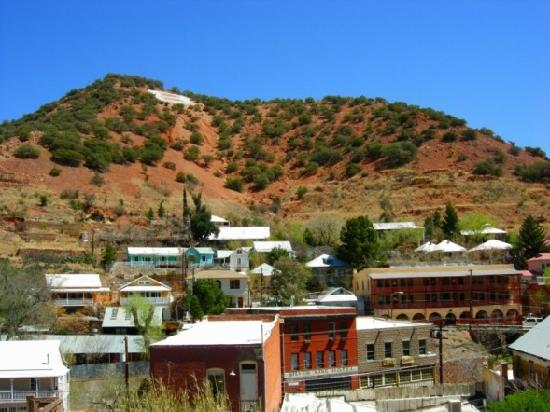 The OK Street Jailhouse: Some of the old homes in Bisbee