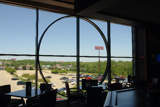 Crowne Plaza Springfield: View from lounge