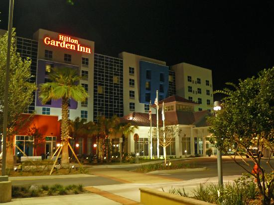 Hilton Garden Inn Tampa Airport Westshore: Hilton Garden Inn at night