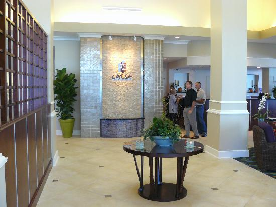 Hilton Garden Inn Tampa Airport Westshore: Reception area