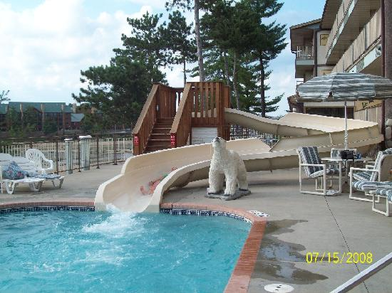 Outdoor Pool And Waterslide Picture Of Cliffside Resort