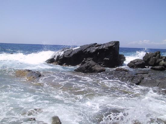 San Vincenzo, Ιταλία: Mare incazzato alla Buca