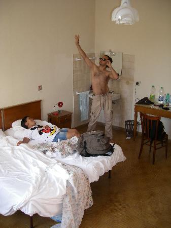 Albergo Ligure: Ich, Silvinha und die Waschecke