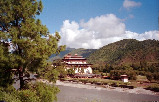 Punakha, Bután: Dzong