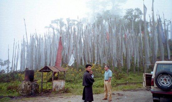 Thimphu, Bhoutan : Dochu La pass