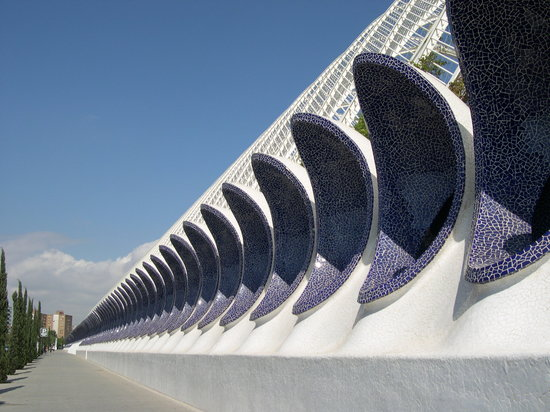 Valencia, İspanya: La ciudad del los Artes Y las Ciencias (the City of Arts and Sciences)