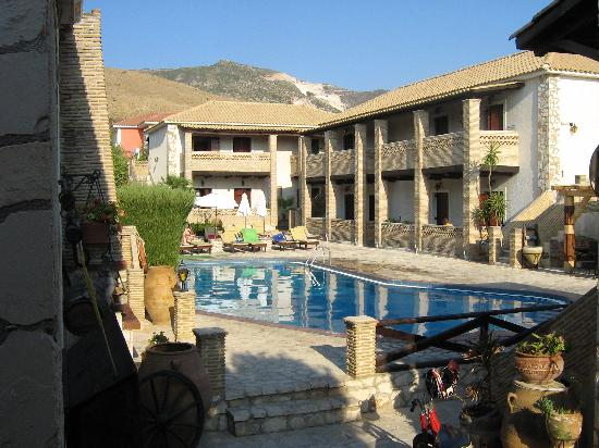 The Pool Area Picture Of Garden Village Apartments Kalamaki Tripadvisor